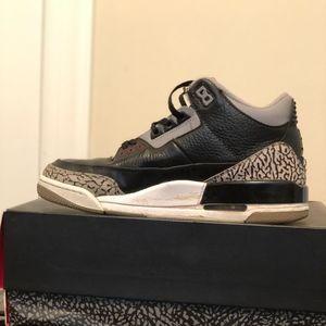 Air Jordan Retro 3-Cement/black